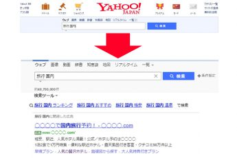 検索連動型広告(リスティング広告)