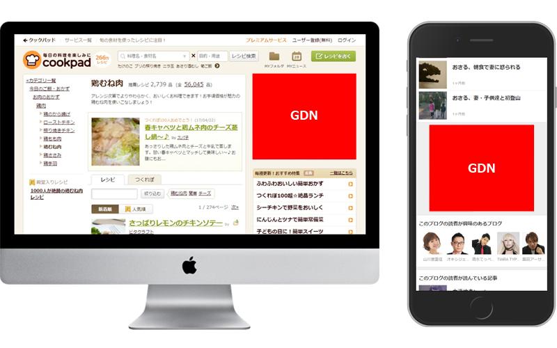 GDN広告掲載イメージ